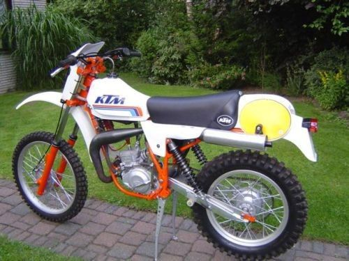 nouveau projet ktm 80cc gs 1986 replica 100 ktm. Black Bedroom Furniture Sets. Home Design Ideas